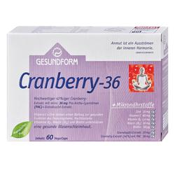 GESUNDFORM CRANBERRY 36