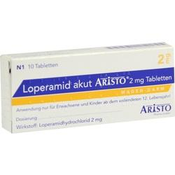 LOPERAMID AKUT ARISTO 2MG